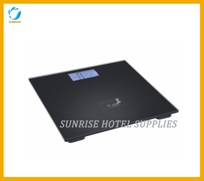 Classic Black Weighing Scale Bathroom Scale