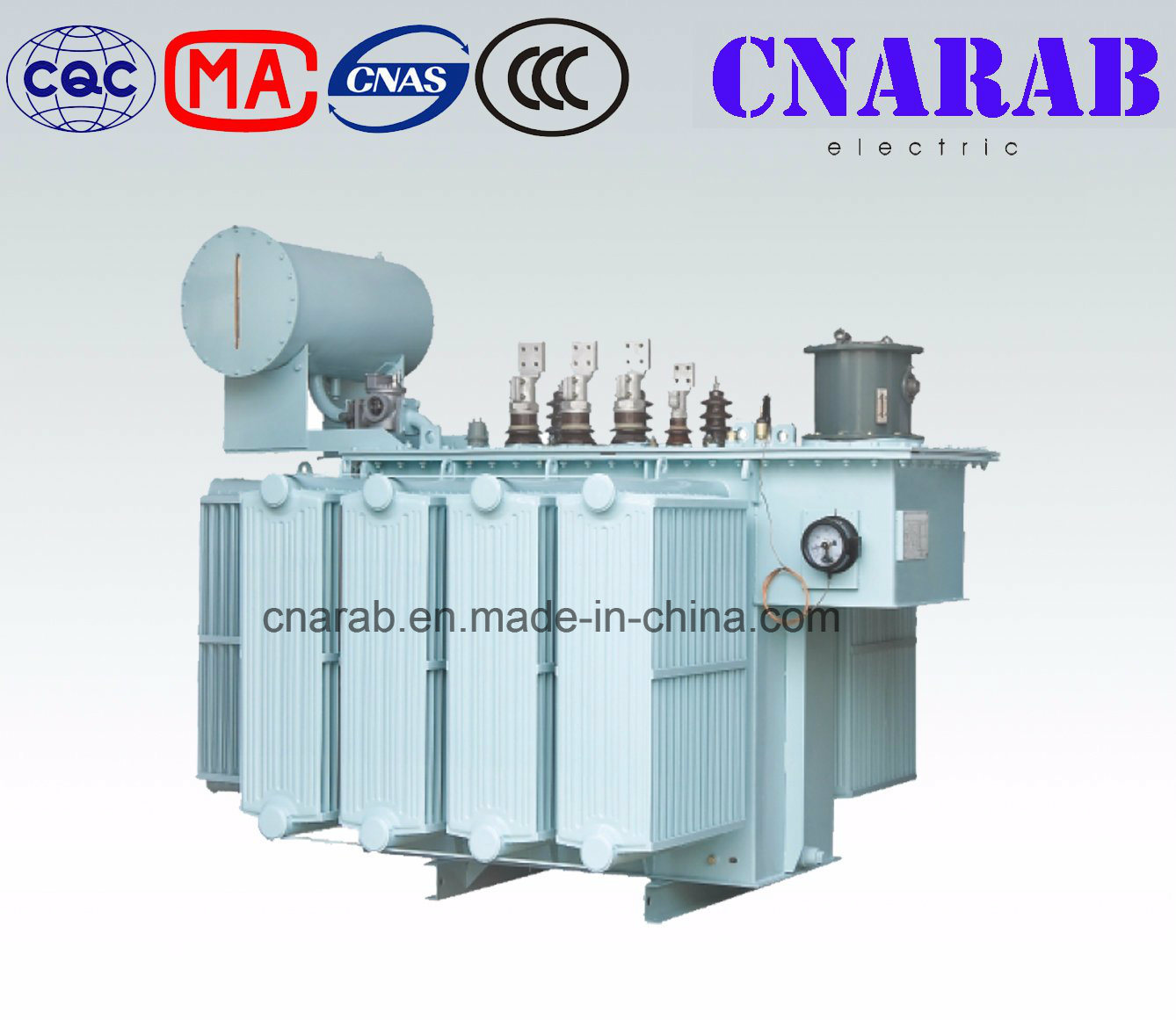 35kv Duplex Winding on-Load Tap Changing Oil Immersed Power Transformer (SZ9)