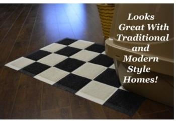 Tufted Carpet Mat PVC Coil Floor Mat Entrance Mat