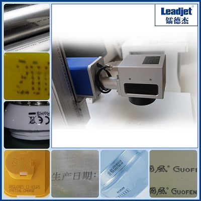 Leadjet CO2 Laser Coding Machine for Pet Bottle