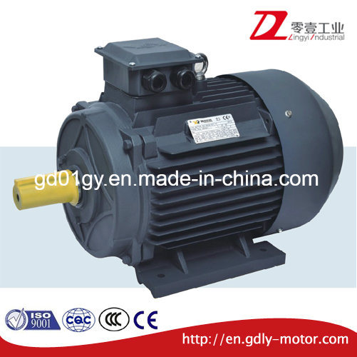 High Efficiency Cast Aluminum 3 Phase Asynchronous Electric Motor