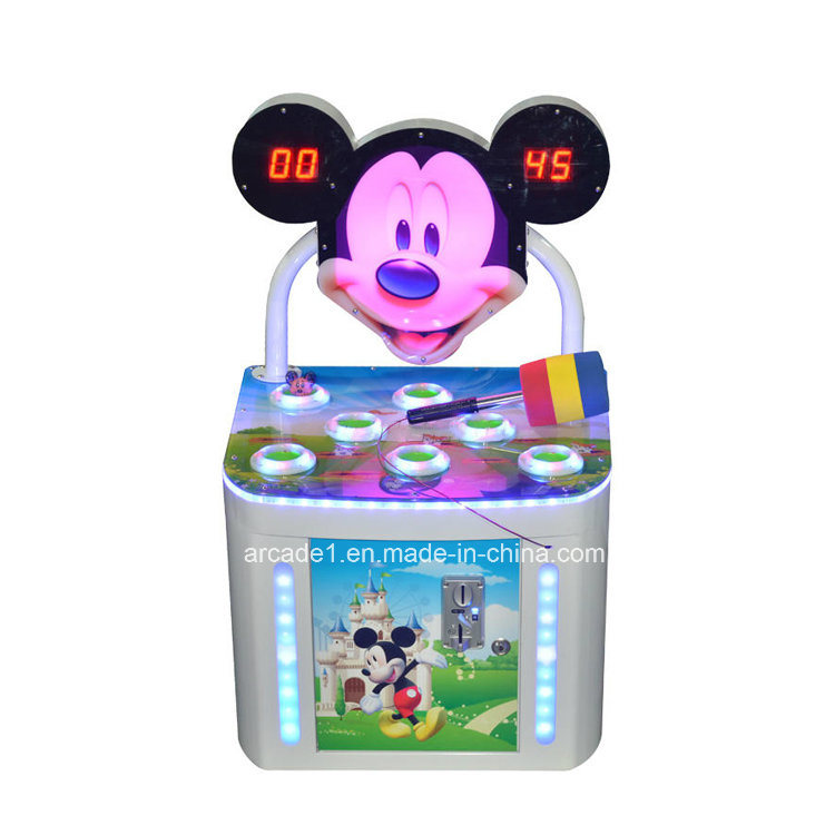 OEM Coin Operated Kids Whack-a-Mole Game Machine
