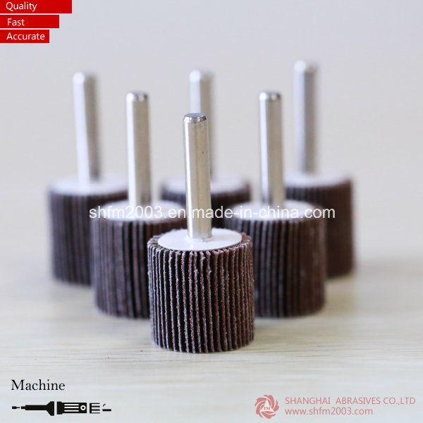 50*25*6mm, P60, Cotton Polishing Tools Abrasive Tools Flap Wheel for Metal