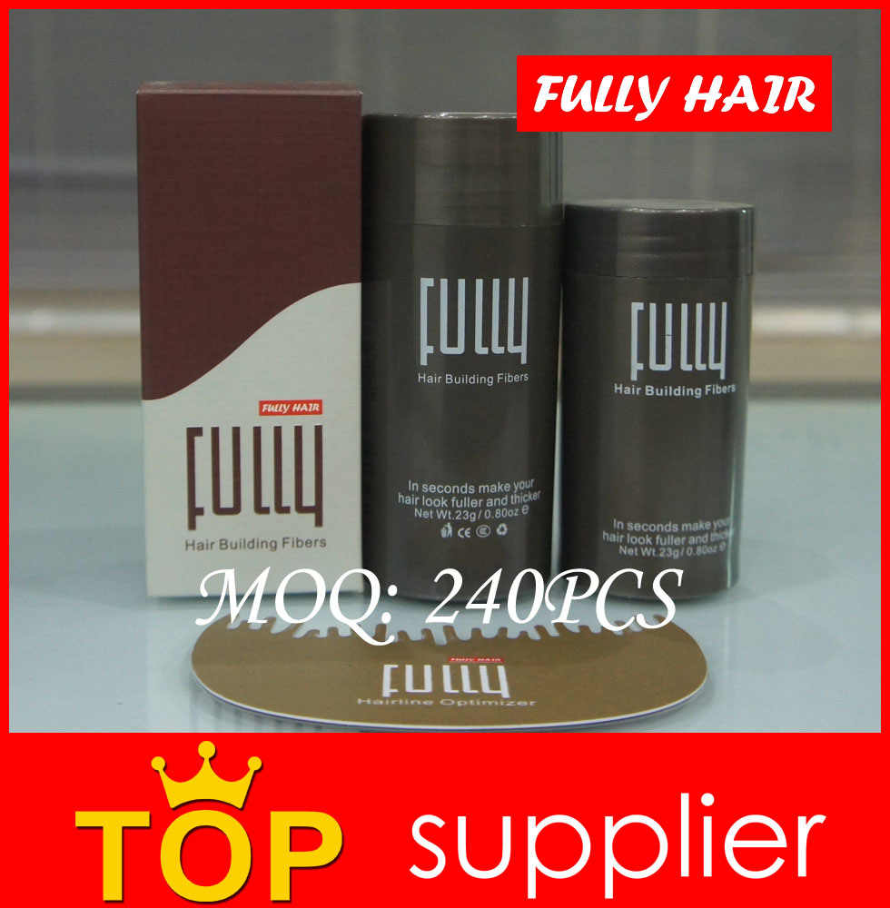 High Quality Fully Keratin Hair Building Fiber OEM Support Free Samples