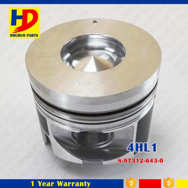 Piston with Pin of 4hl1 Wholesale Excavator Diesel Engine Parts OEM Size in Stock