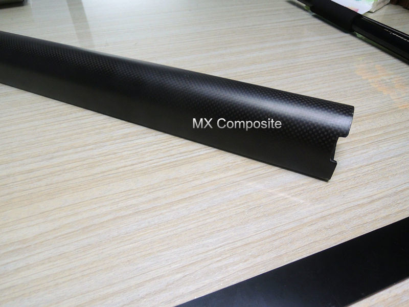Molded Carbon Fiber Pipe, High Strength and Anti-Deformation