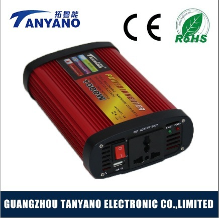 off Grid Solar 1000W Car Power Inverter