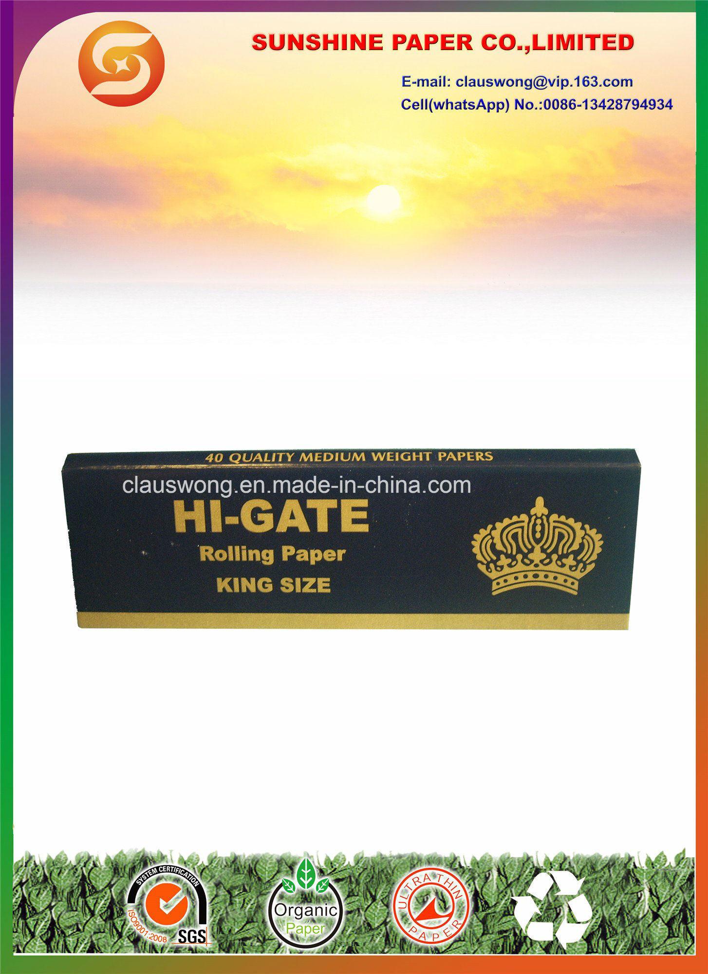 King Size Hi-Gate Cigarette Paper