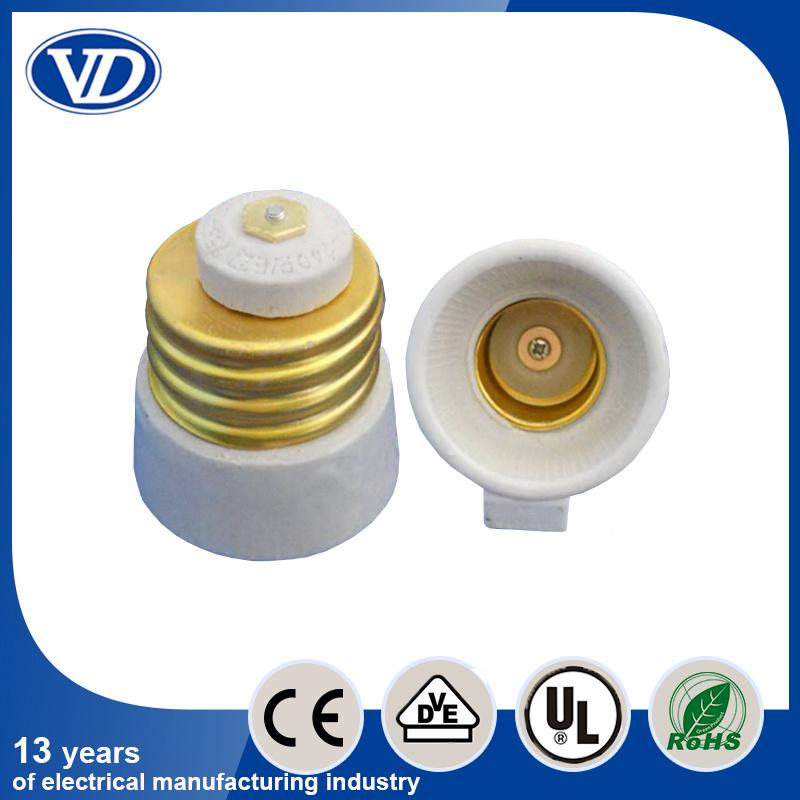 LED Porcelain Lamp Holder Adapter E39 to E26