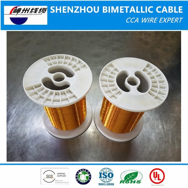 Best Price ECCA Wire (enamelled copper clad aluminum wire) Supplier