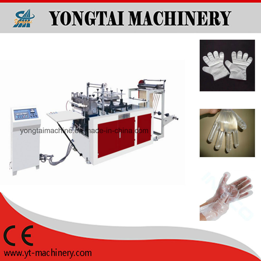 Single Layer Disposable PE Plastic Gloves Making Machine