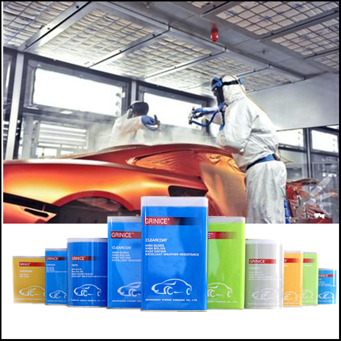 Univeral Car Paint, Basecoat, Hardener Use Thinner