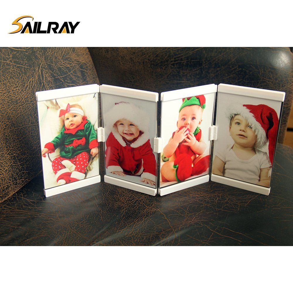"""5""""*7""""Leggy Horse Home Decoration New Style Acrylic Photo/Picture Frame with 4 Piece Set"""