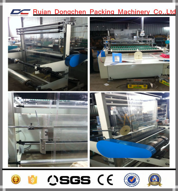 High Speed Plastic PE PP Side Sealing Bag Making Machine (DC-B)