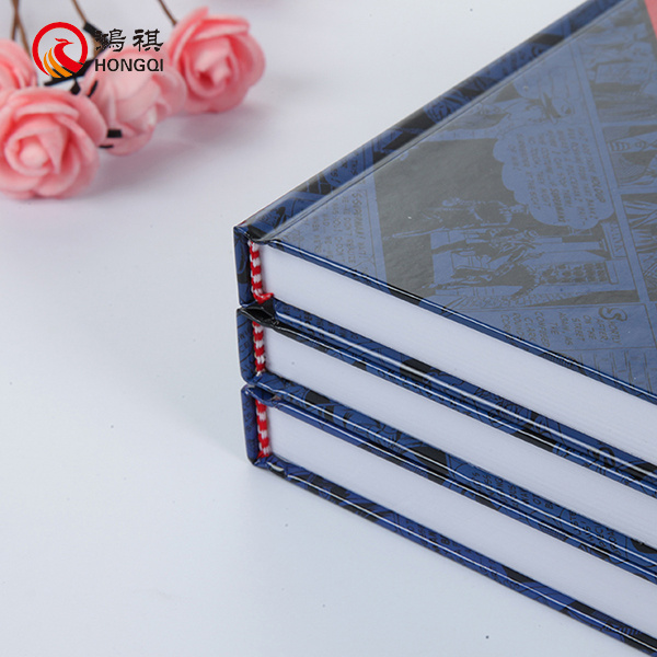 Hard Cover Notebook Sewing Binding