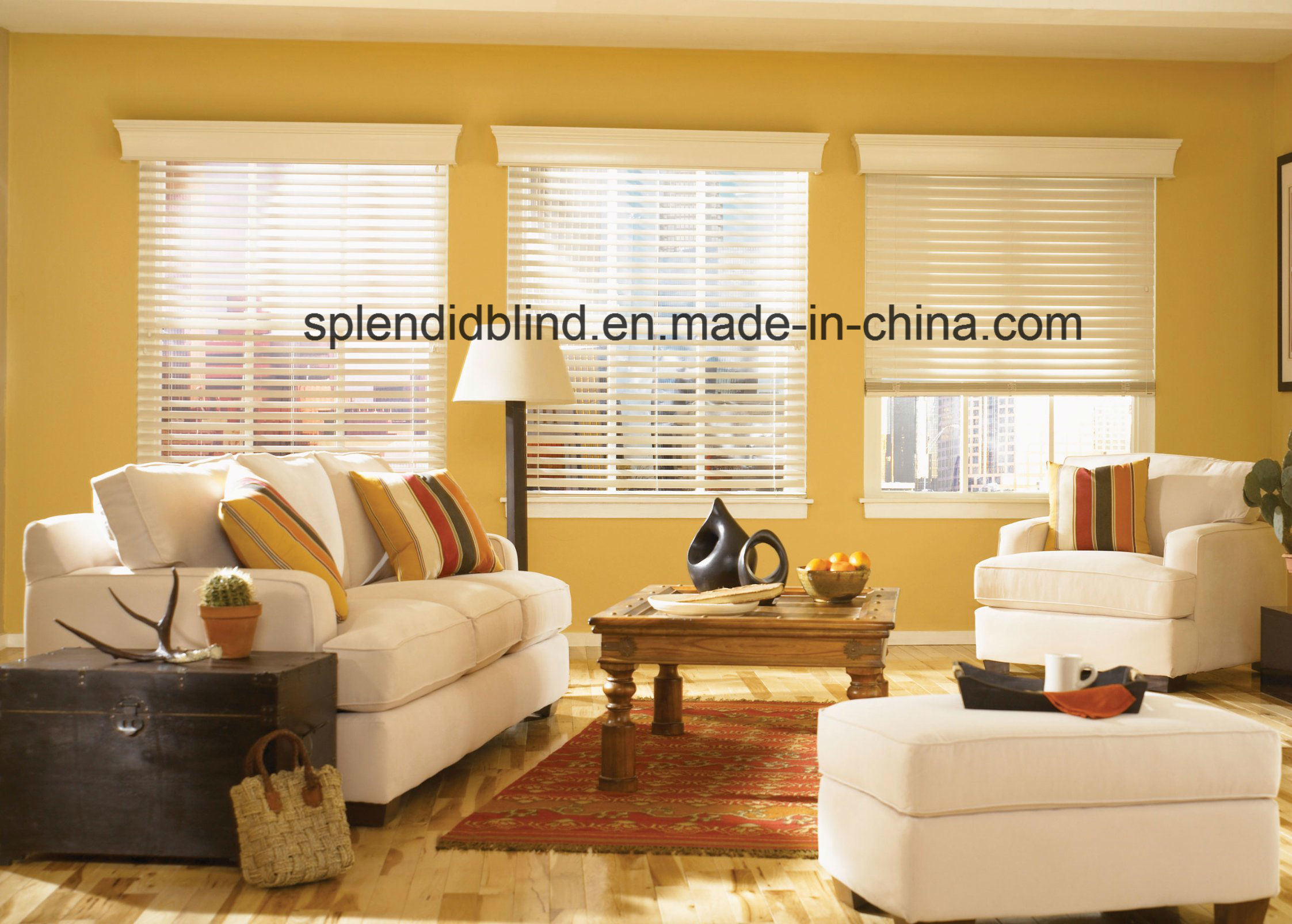 Tassel Windows Wooden Curtain Blinds Quality Blinds
