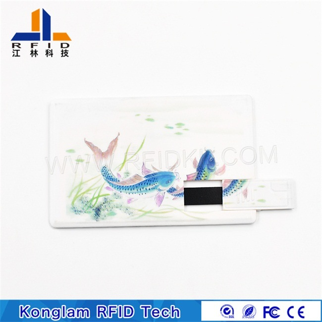 Customize RFID PVC U Card with Alien H3 Chip for Social Security