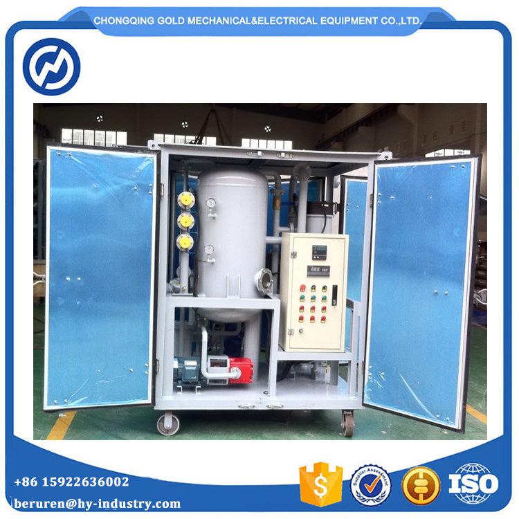 Ce Proved Transformer Oil Filtration Plant