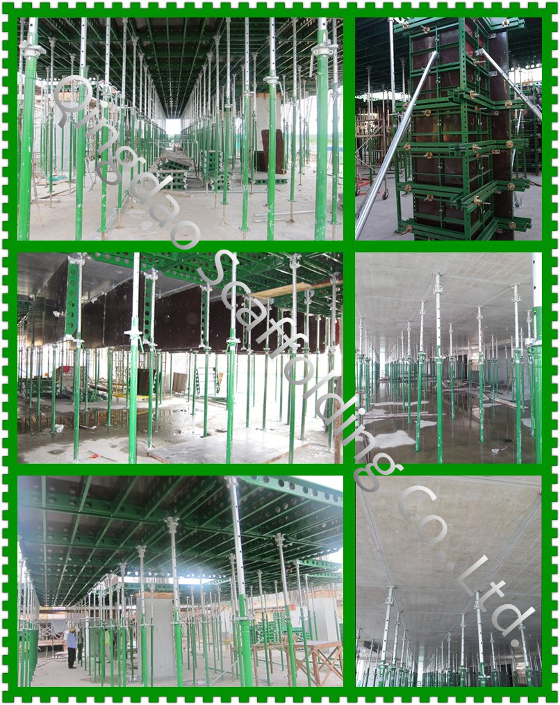 Green Formwork /Panel-Prop Early Stripping /Most Advanced Steel Formwork for Concrete Construction
