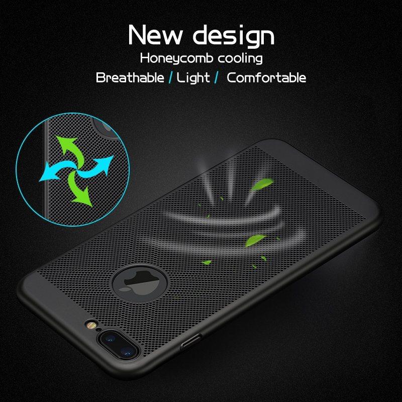 New Arrival! Unique Design Heat Cooling Phone Case for iPhone 7/ 7 Plus