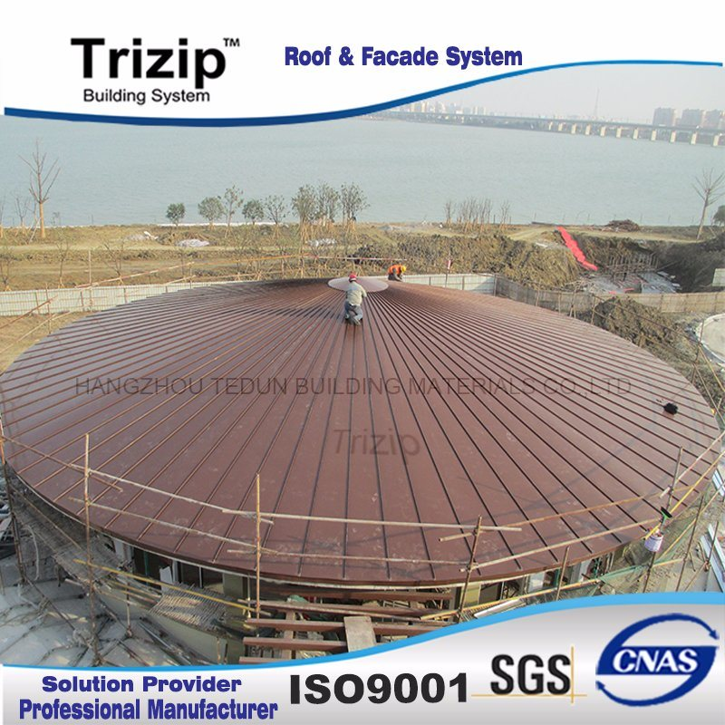 Low Rib Standing Seam Roofing Sheet (Triseam25-430) /Metal Sheet/Metal Roof