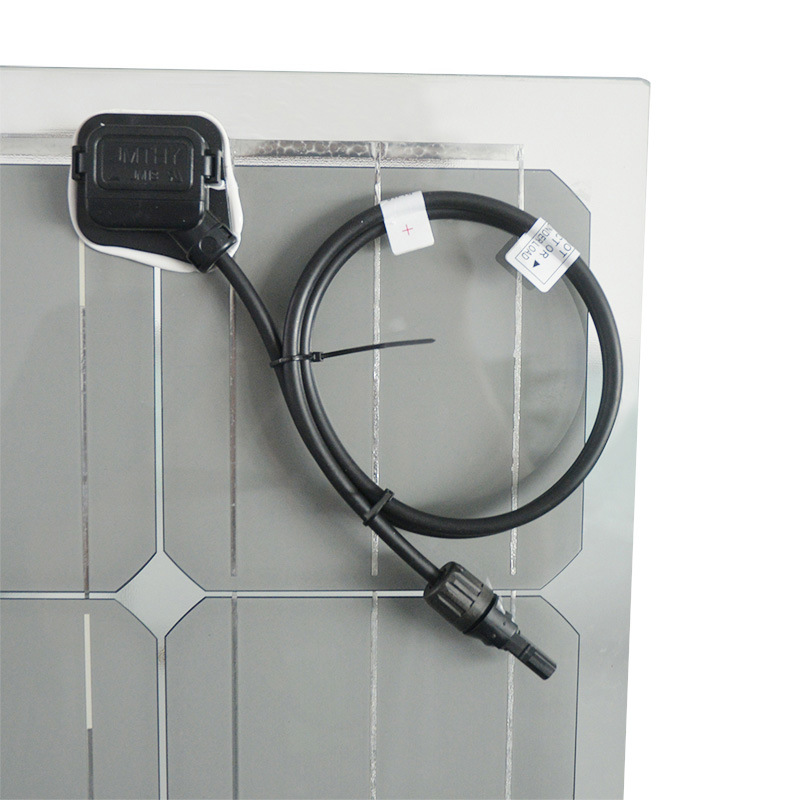 New Design Double-Sided Glass Mono Solar Panel 150W for Sale