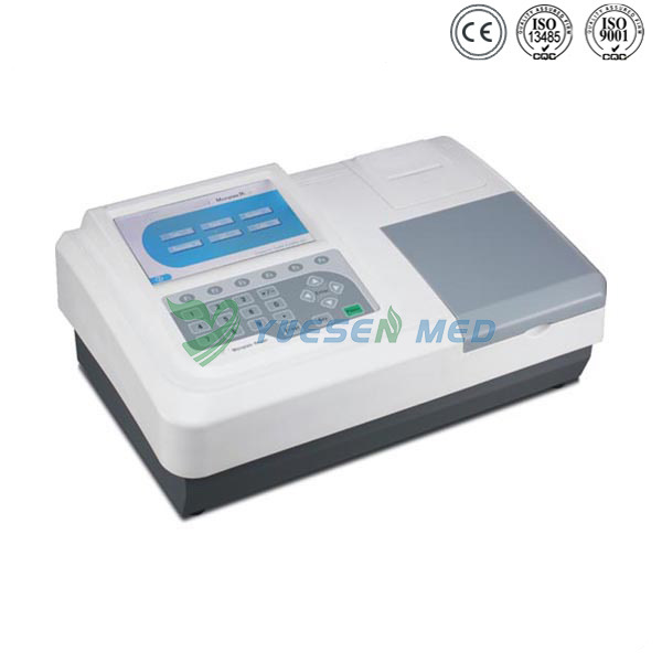 7-Inch LCD Touch Screen Elisa Plate Reader