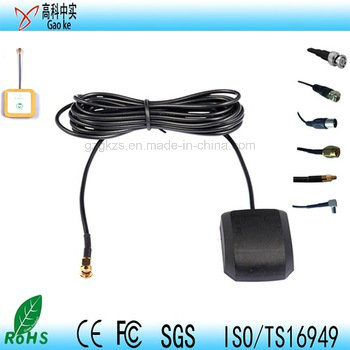 Active Car External GPS Antenna Magnetic or Stick Mounting 1575.42MHz Rg174 3m/5m Cable with SMA 90 Angle Connector GPS Antenna
