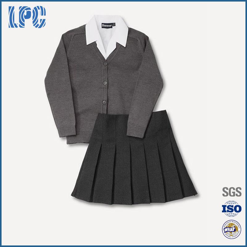 2016 Autumn Fashion Boy/Girl High School Student Uniform