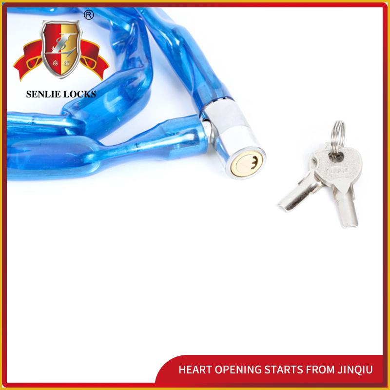 Jq8602 Popular Bicycle Lock Motorcycle Chain Lock Iron Bicycle Lock