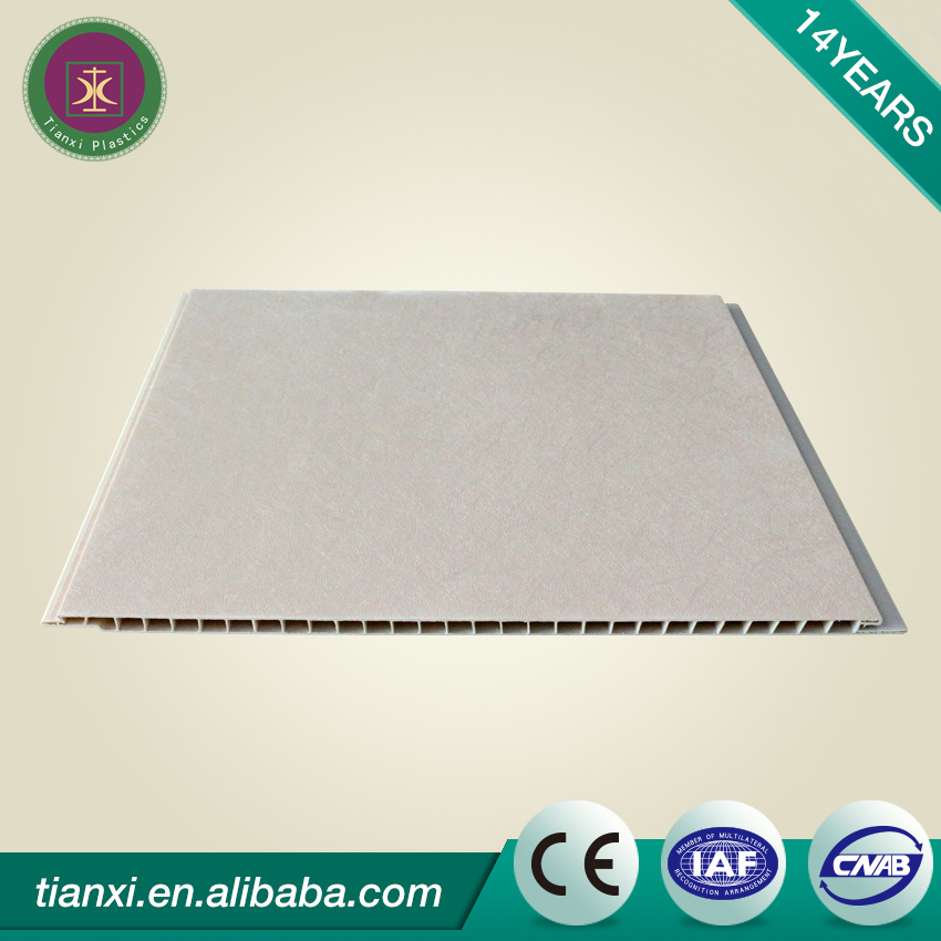 PVC Ceiling Wall Boards Laminated Surface WPC Wall Boards
