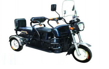 Luxury 3 Wheel Electric Scooter Powerful Motor Tricycle
