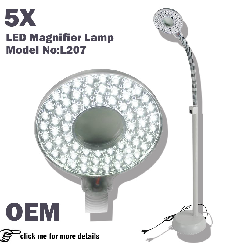 Factroy Direcly Sale Magnifying Lamp LED / Magnifying Glass with LED Light Beauty Equipment