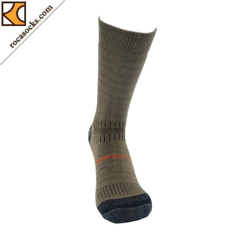 Outdoor Hiking Merino Wool Crew Socks of Men (162006SK)