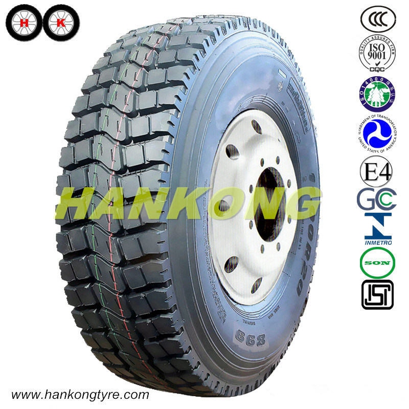 13r22.5 Mining Tire Radial Wheels Heavy Truck Tires