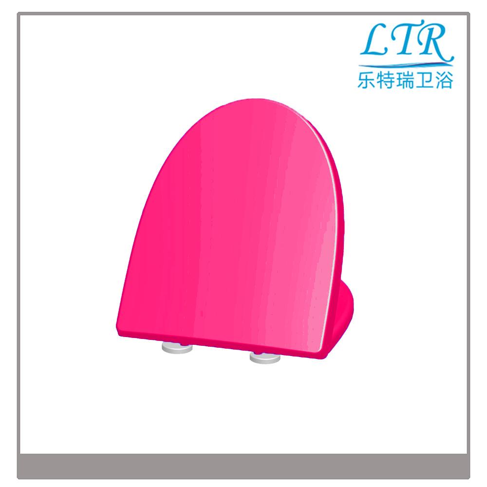 Sanitary Glitter Automatic Open Toilet Seat