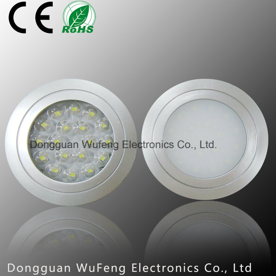 Recessed Ultrathin LED Inner Cabinet Light for Wardrobe Decoration