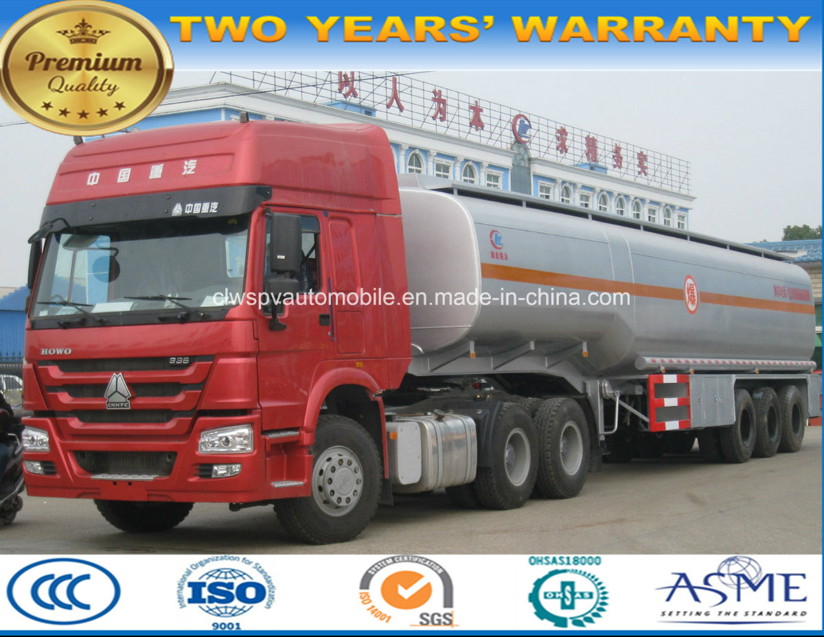 Sinotruk HOWO 50000L Tanker Trailer 50 Tons Tractor Truck