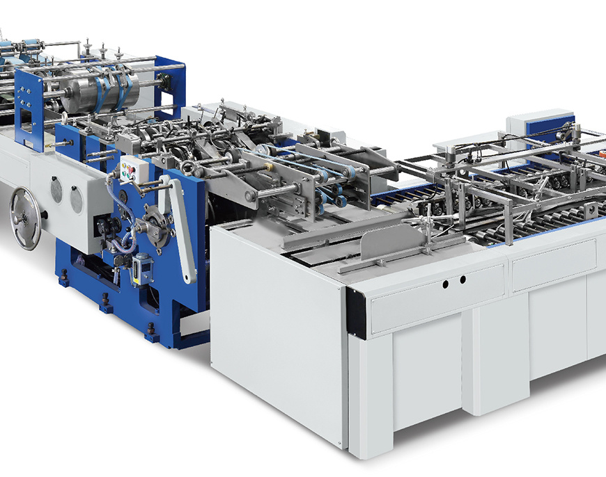 Automatic Sheet-Feeding Paper Bag Making Machine (Zb1200s-430)