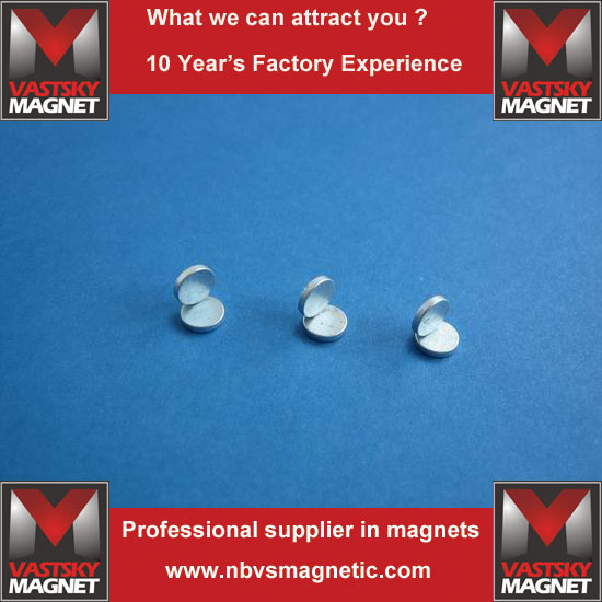 N35 N45 N48 N52 Permanent Cylindrical Neodymium Iron Boron Magnet