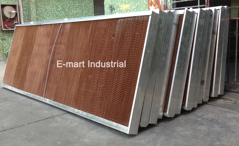 Customized Evaporative Wet Curtain for Air Cooler