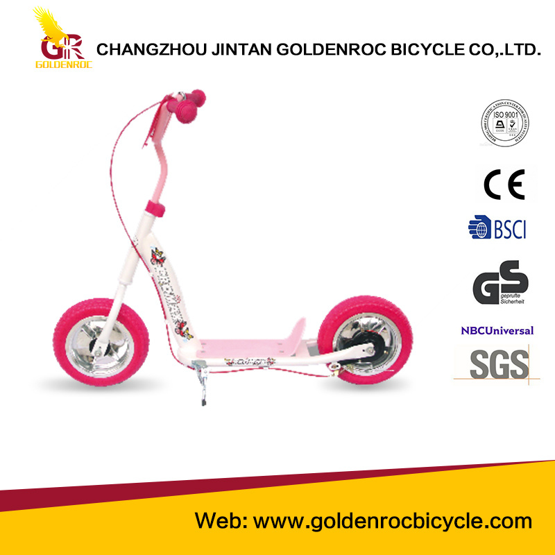(Gl1004-A) High Quality American Orders 10′′children Kick Scooter with Ce