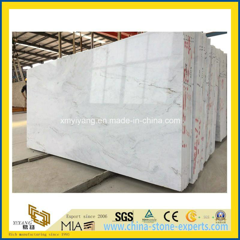 Castro White Marble for Slab, Tile, Floor, Wall, Project