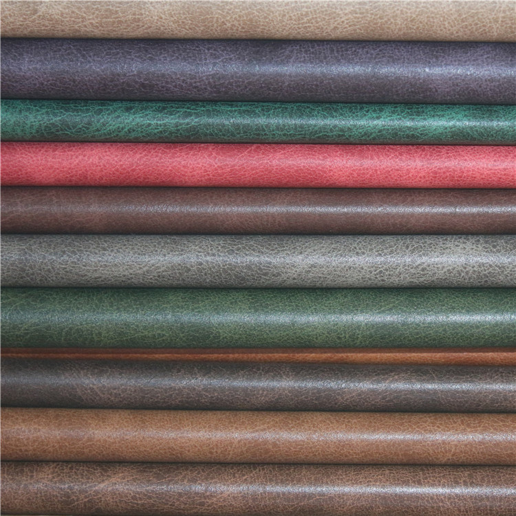 High Quality Plain Microfiber Imitated Sofa Upholstery Leather