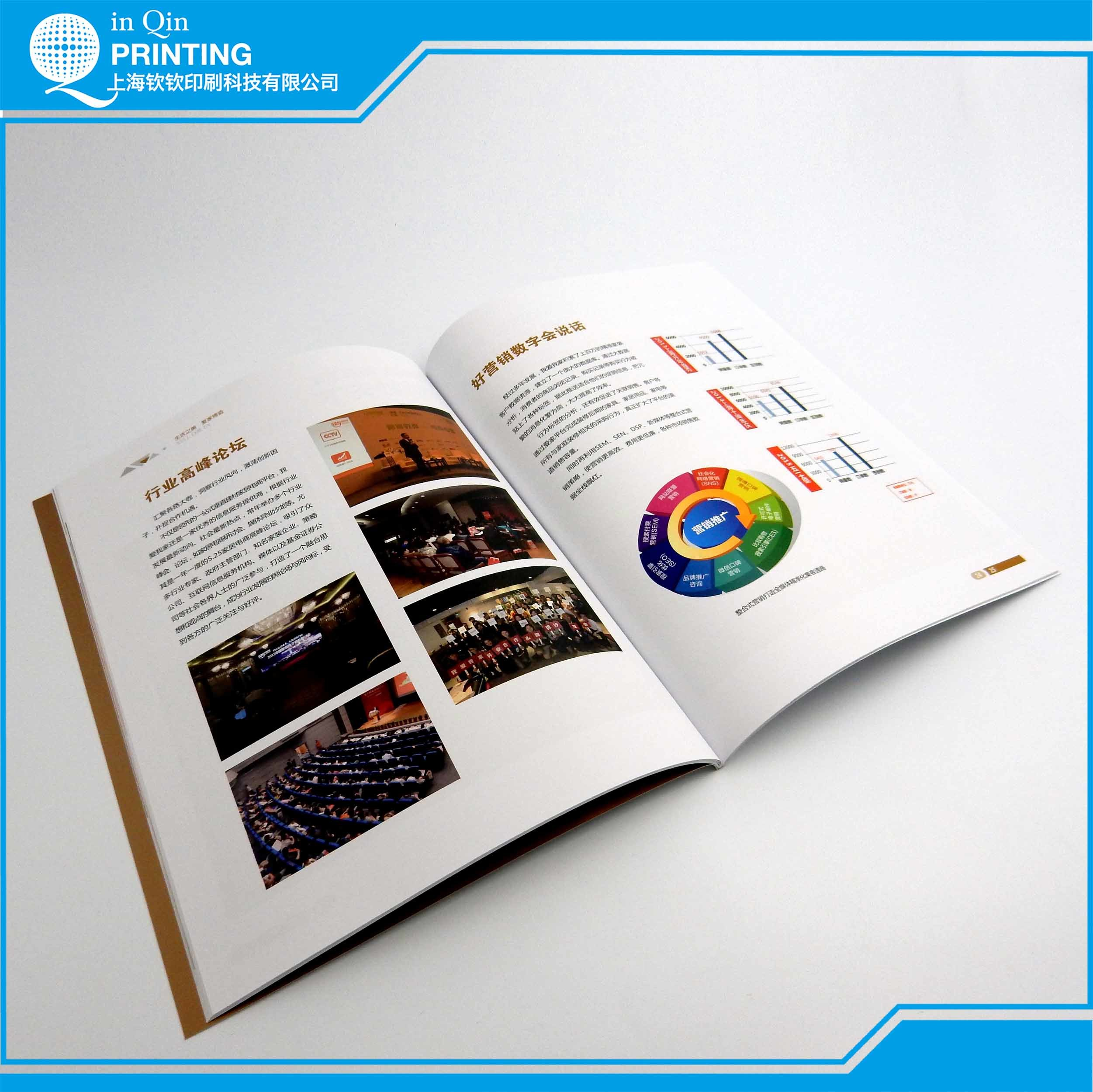 Custom Catalogue Book Magazine Brochure Printing Services