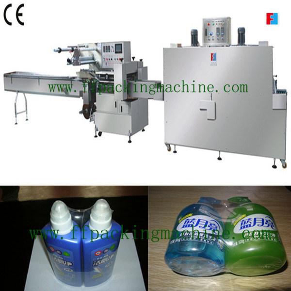 Automatic Bottle Shrink Packing Machine for Shampoo Bottle/Cosmetic Bottle