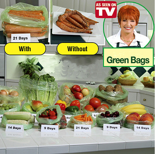 High Quality Green Bag and Fresh Plastic Bags