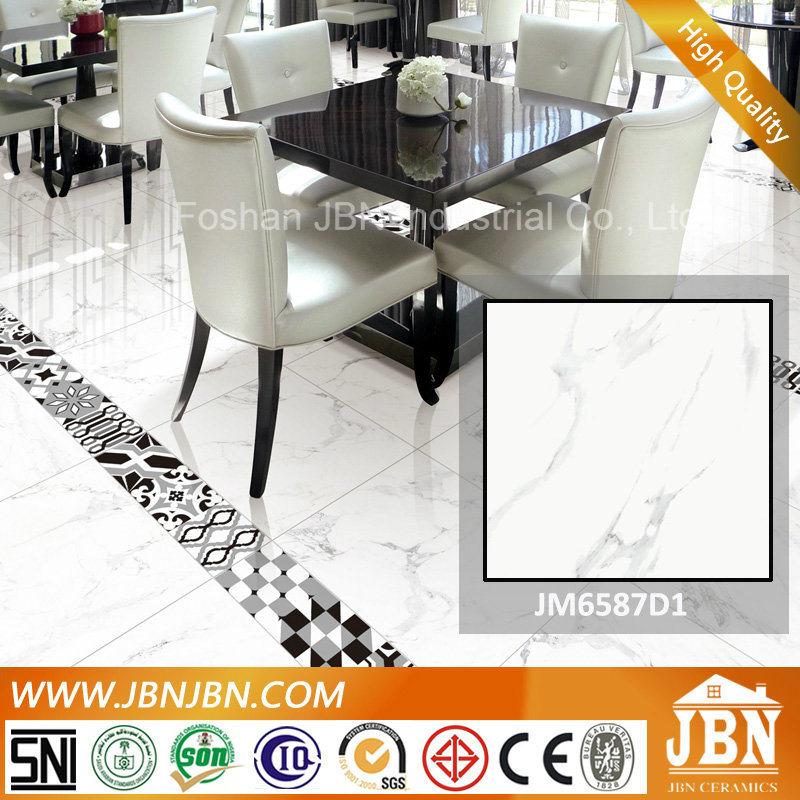 Carrara Super White Marble Flooring Porcelain Tile (JM88067D)
