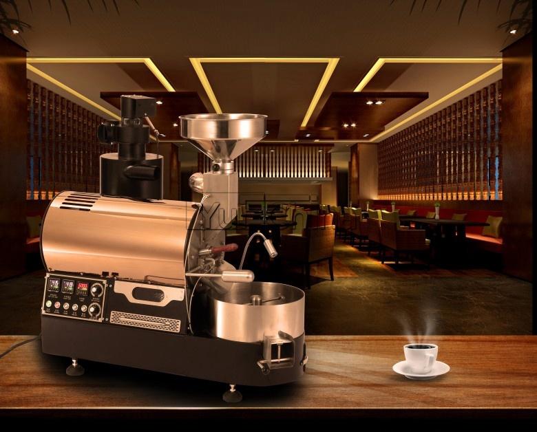 Automatic Espresso 3kg Coffee Maker with High Grade