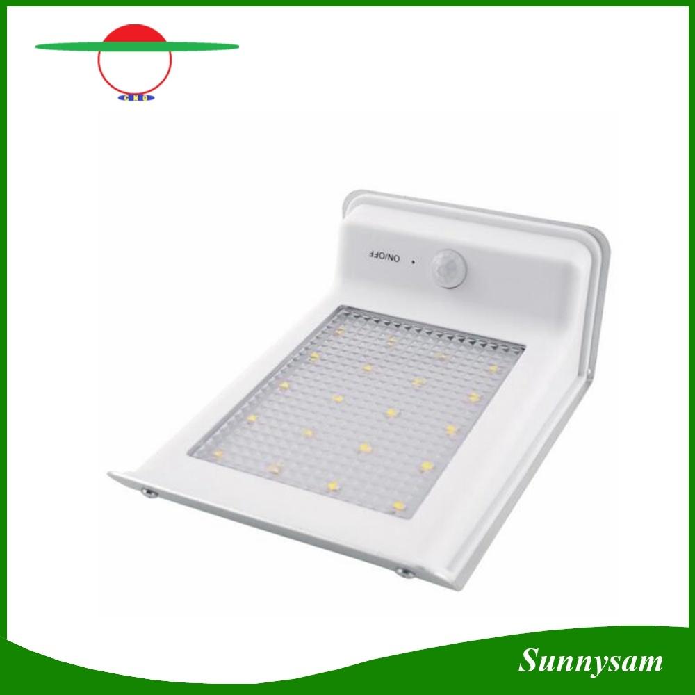 Solar Power Powered 20 LED Bright Energy Saving Waterproof Garden Outdoor Motion Sensor PIR Security Wall Light